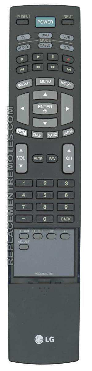 LG MKJ39927801 TV Remote Control
