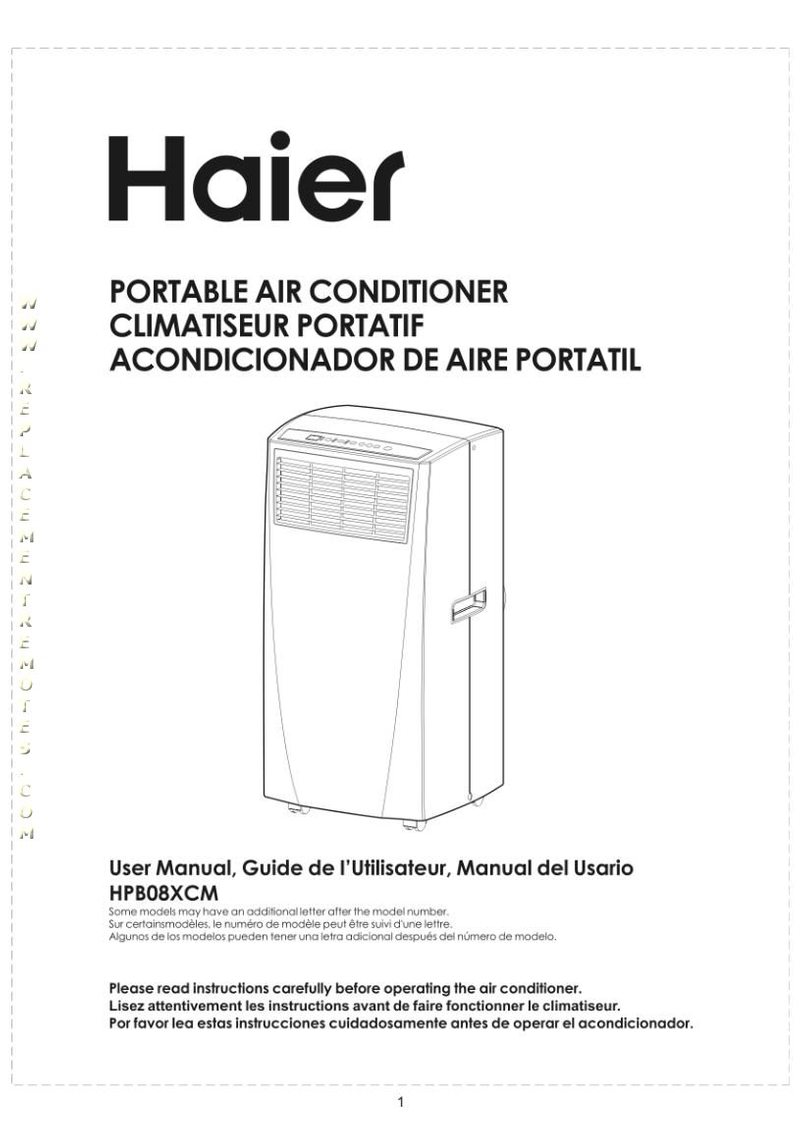 Haier HPB10XCROM Operating Manual
