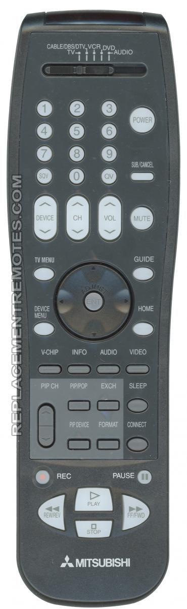 MITSUBISHI 290P123010 TV Remote Control