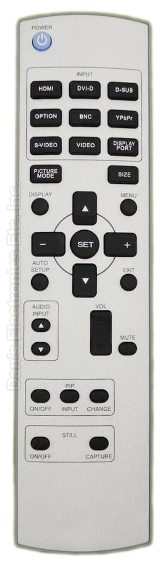 MITSUBISHI RUDM126 Remote Control