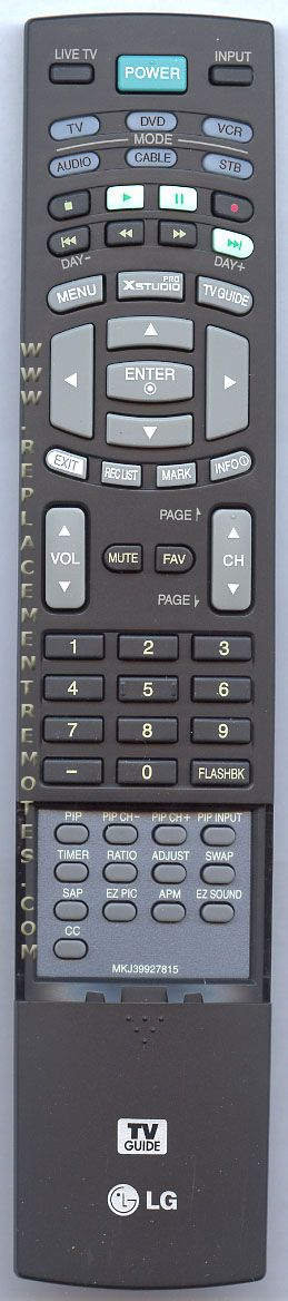 LG MKJ39927815 TV Remote Control