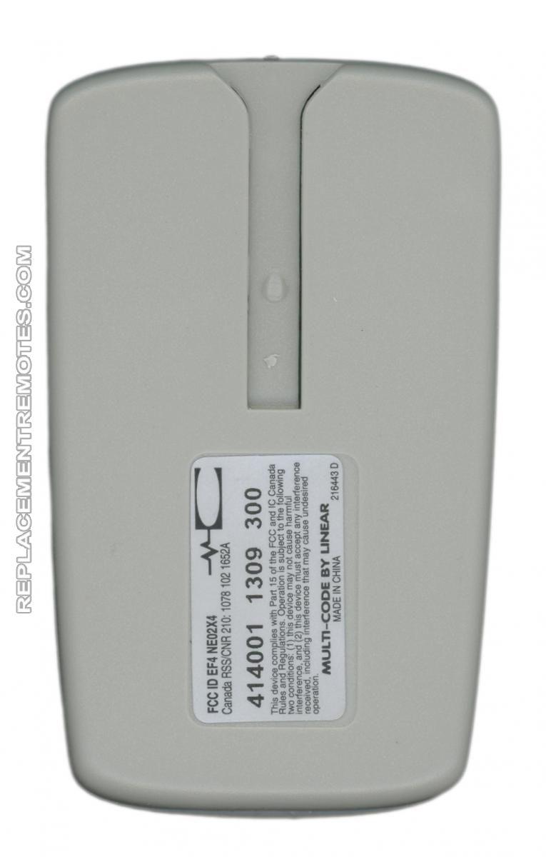 Buy multicode 4140 garage door opener four button remote for Selecting a garage door opener