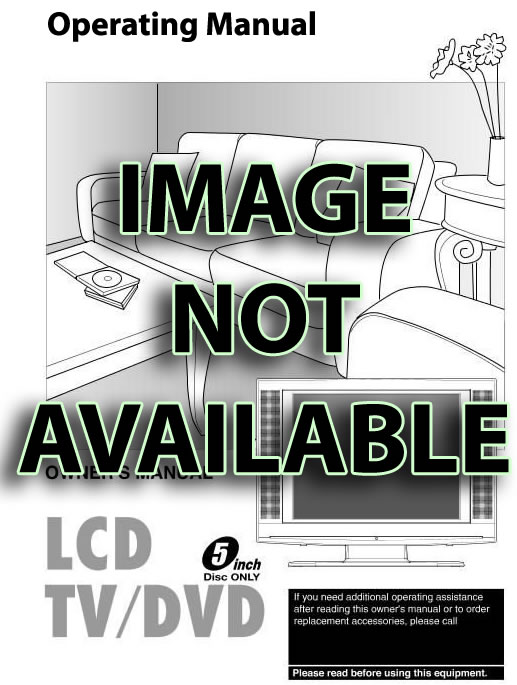 LG 37LD650HOM Operating Manual