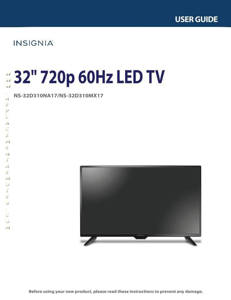 INSIGNIA NS32D310NA17OM Operating Manual