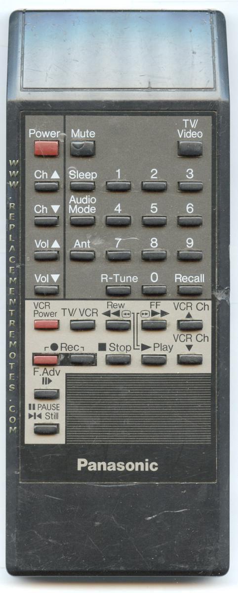 Panasonic EUR641154 TV Remote Control