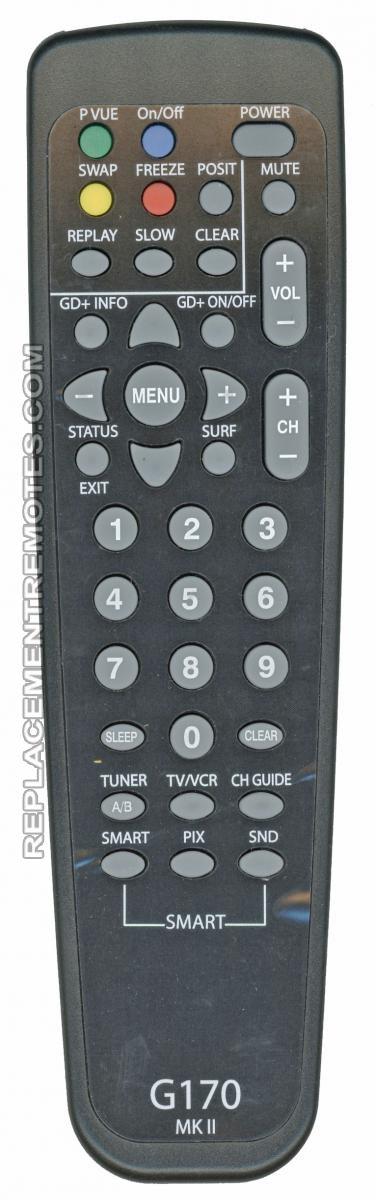 PHILIPS G170 MK II TV Remote Control