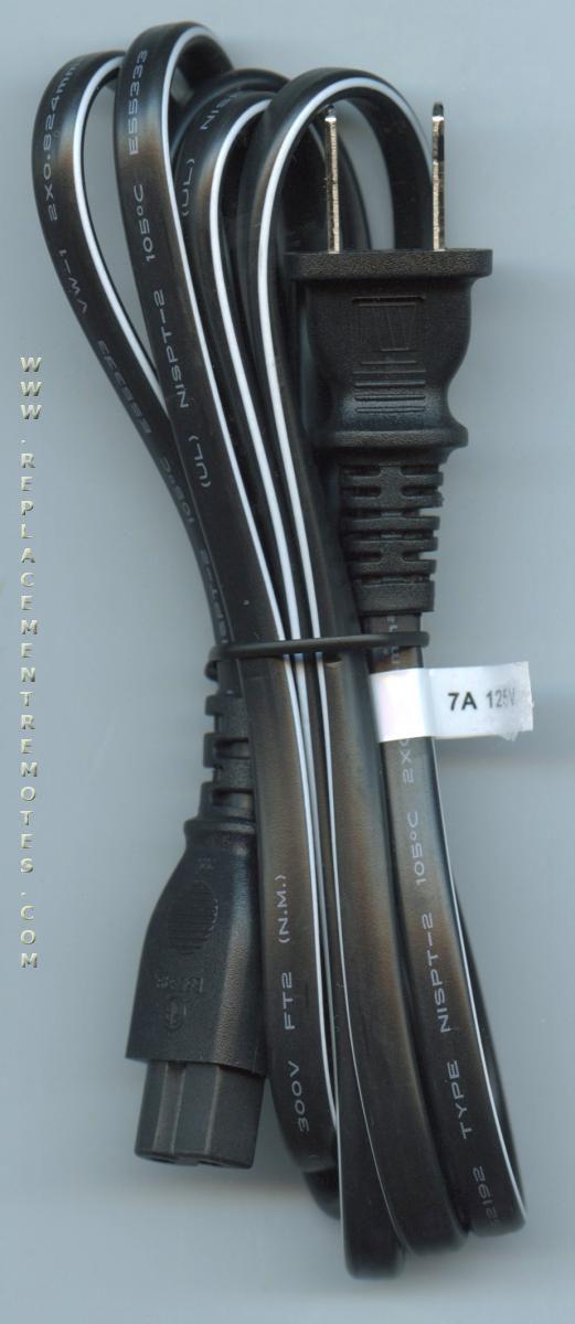 PHILIPS WAV0162LW001 TV AC Power Cord