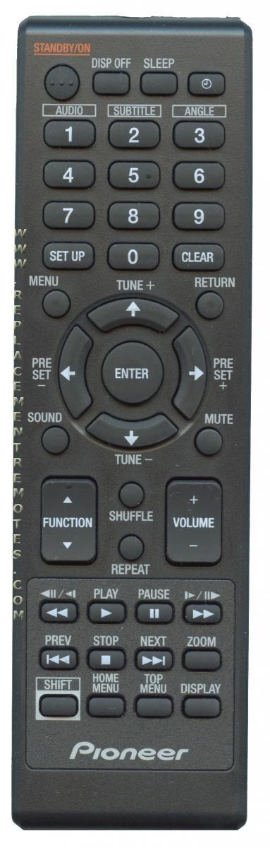 PIONEER 076R0TF011 Remote Control