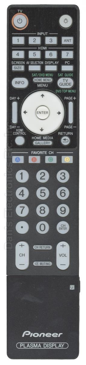 PIONEER AXD1549 TV Remote Control