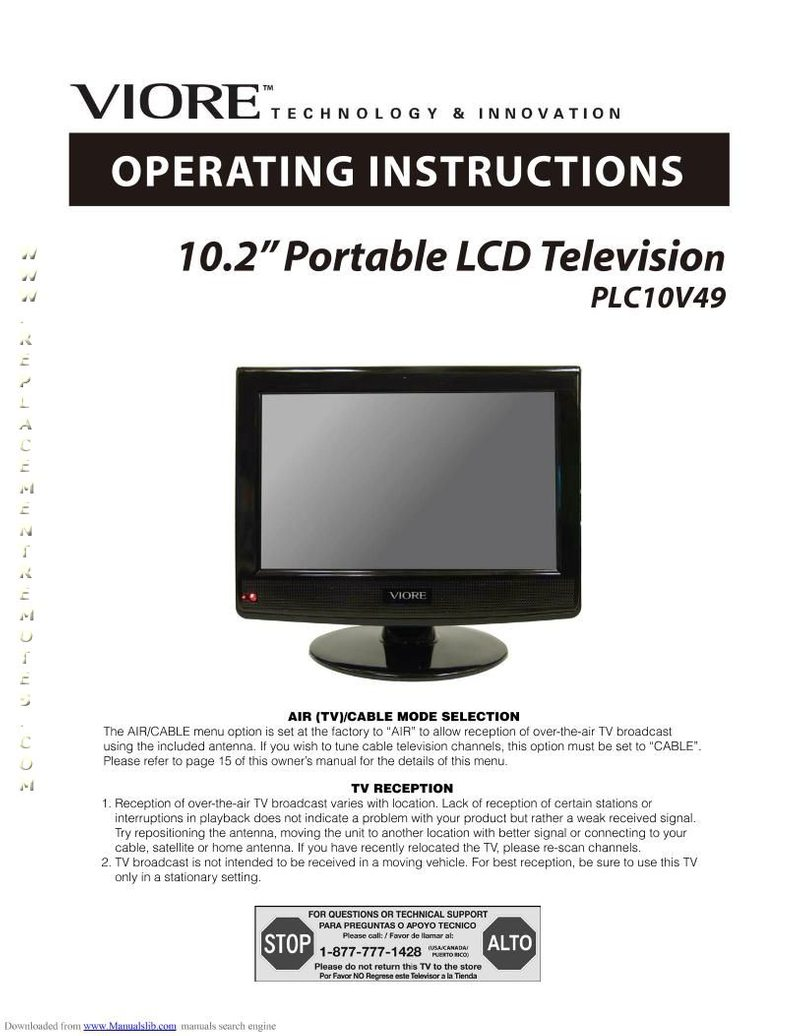 VIORE PLC10V49OM Operating Manual