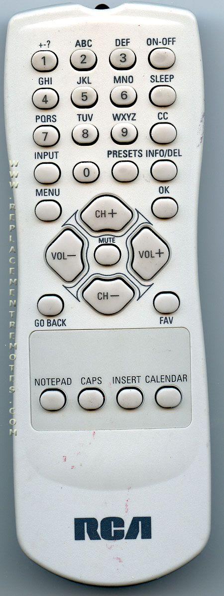 rca tv 20v500t manual