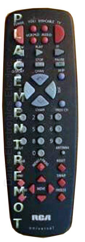 RCA CRK74A2 TV Remote Control
