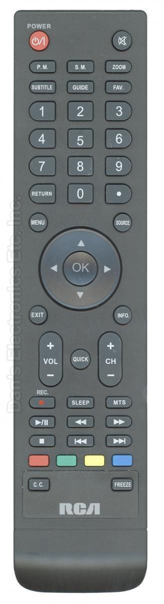 RCA 539C262129W000 TV Remote Control