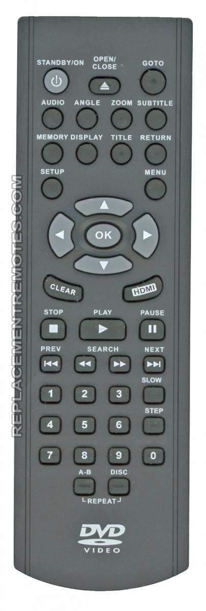 RCA DRC277A REMOTE DVD Player Remote Control
