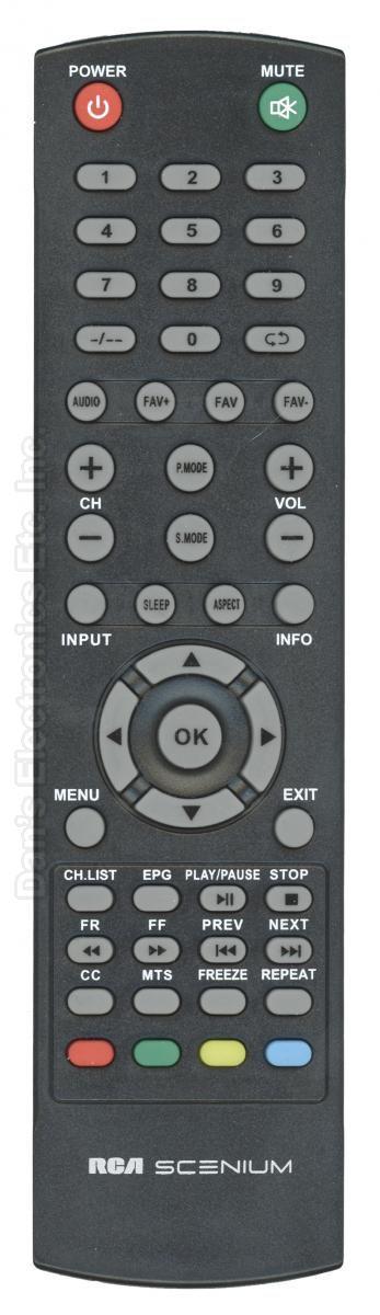 RCA AE0200852 TV Remote Control
