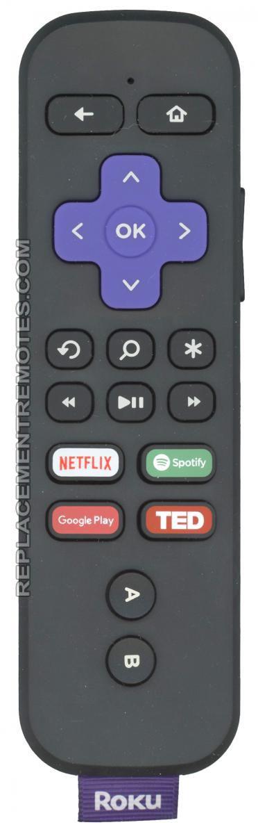 ROKU RCGR4 RF Game/Voice/headphone Roku Streaming Box Remote Control