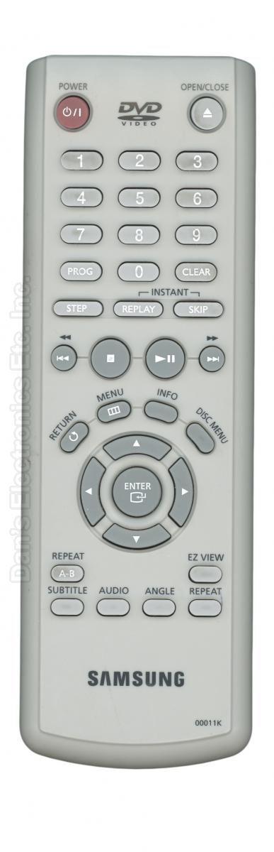 SAMSUNG 00011K DVD Player Remote Control