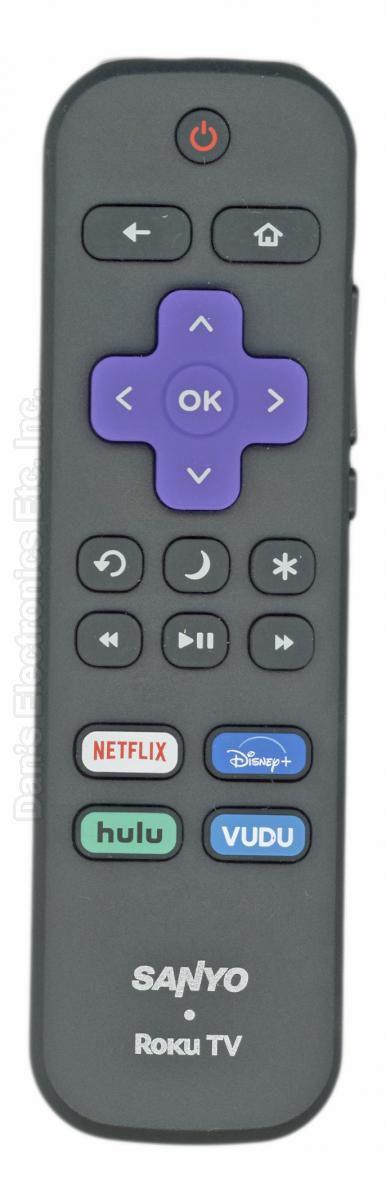 SANYO RCALIR ROKU TV Remote Control