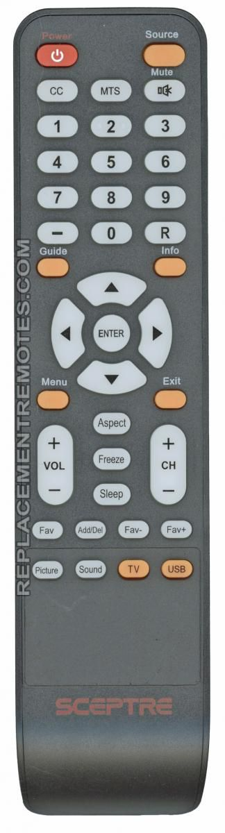 Buy Sceptre X32 Remote Tv Remote Control