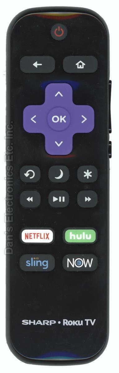 SHARP LCRCRUS20 ROKU TV Remote Control