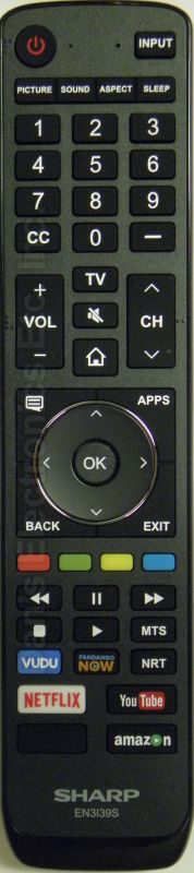 SHARP EN3139S Remote Control