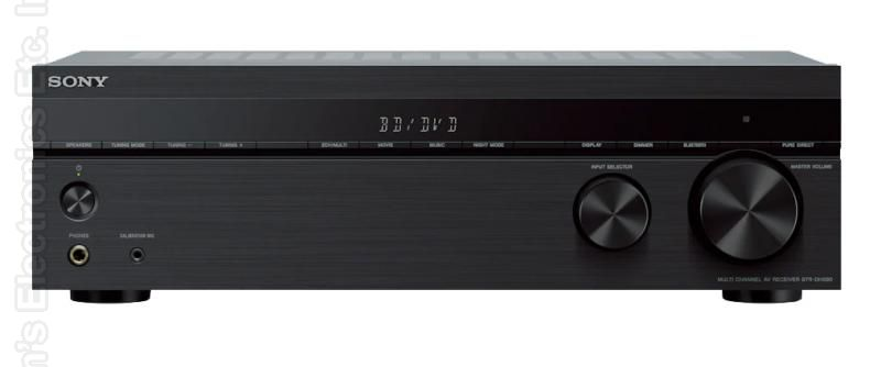 SONY STRDH590 Audio/Video Receiver