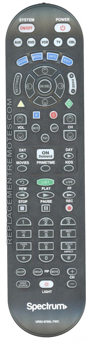 Buy Spectrum UR5U-8780L-TWC CLIKR-5 -UR5U8780LTWC 5-Device Universal Remote