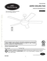Harbor-Breeze 0276094HarborBreezeAeroCeilingFanOM Operating Manuals