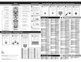 Universal-Electronics urc2025om Operating Manuals