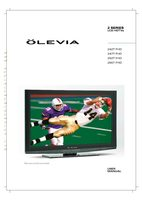 Olevia 242TFHDOM Operating Manuals