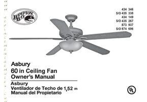 Buy Hampton Bay Fanhd Uc7078t Fan Hd Uc7078thd5 Ceiling