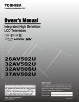 TOSHIBA 43LF421U19OM Operating Manuals
