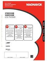Magnavox 37MD350BF7OM Operating Manuals