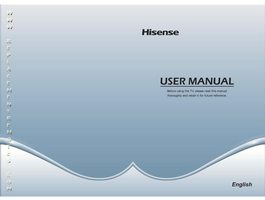 HISENSE 40h3eom Operating Manuals