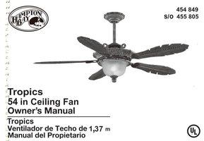Hampton-Bay 454849om Operating Manuals
