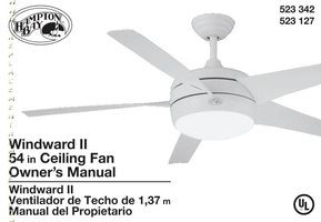 Hampton-Bay TV Remote Controls Operating Manuals | Hampton-Bay ... on