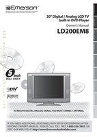FUNAI LD200EM8OM Operating Manuals