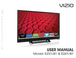 VIZIO e241ib1om Operating Manuals