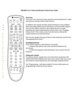 Comcast xfinity ondemand remote control for motorola dct3416 dct.