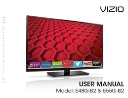 VIZIO E550iB2OM Operating Manuals
