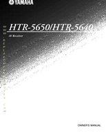 HTR5650-HTR5640OM P/N: HTR-5650/HTR-5640