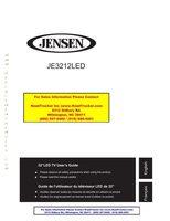 JENSEN JE3212LEDOM Operating Manuals