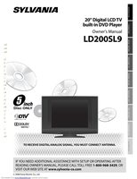 SYLVANIA LD200SL9OM Operating Manuals