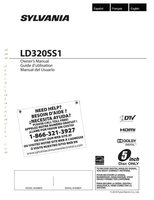 PHILIPS LD320SS1OM Operating Manuals