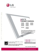 LG 19LD350OM Operating Manuals