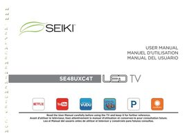 SEIKI ProSmartV30OM Operating Manuals