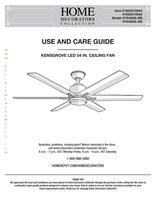 Home Decorators Collection KENSGROVE LED 54 INCH-OM Operating Manuals