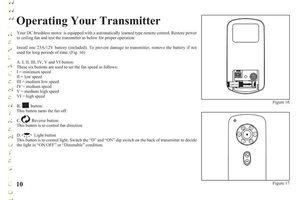 Harbor-Breeze TX003 Operating Manuals