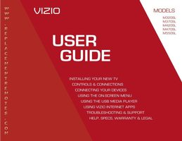 VIZIO XRT302OM Operating Manuals