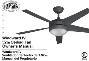 Buy home decorators collection windward iv ceiling fan remote control 26613hamptonbaywindwardiv52inindoorbrushednickelenergystarceilingfanom aloadofball Choice Image